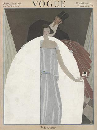 March 15, 1922 | Vogue