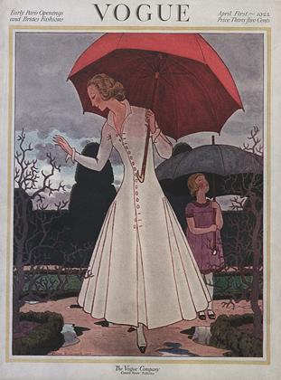 Cover for the April 1 1922 issue