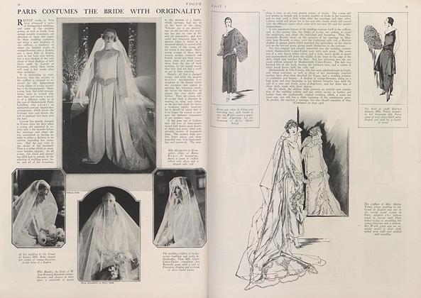 Paris Costumes the Bride with Originality