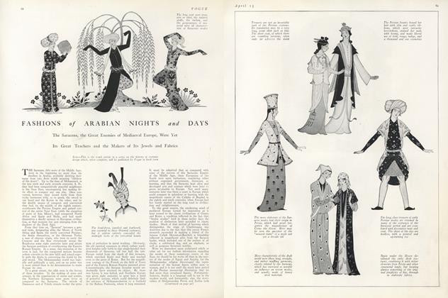Fashions of Arabian Nights and Days