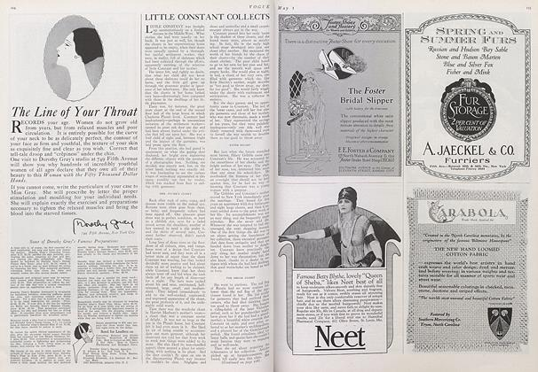 Article Preview: Little Constant Collects, May 1 1922 | Vogue