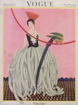 May 15, 1922 | Vogue