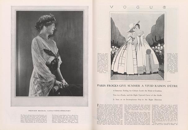 Article Preview: Paris Frocks Give Summer a Vivid Raison d'Etre, June 1 1922 | Vogue