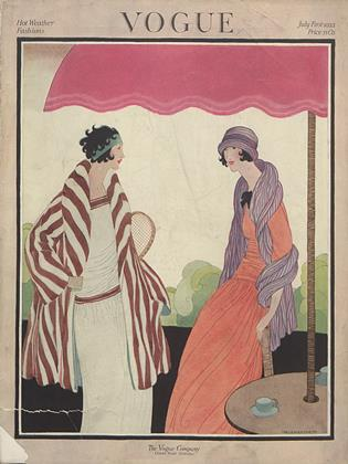 Cover for the July 1 1922 issue