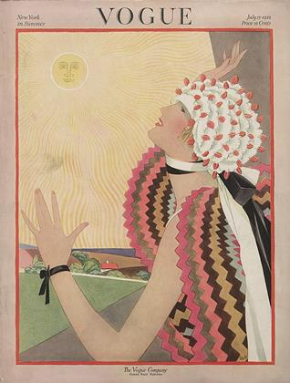 July 15, 1922 | Vogue