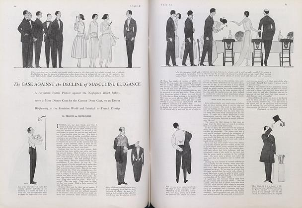The Case Against the Decline of Masculine Elegance