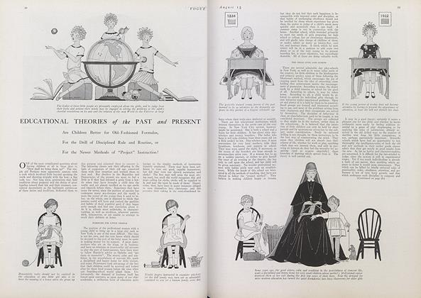 Article Preview: Educational Theories of the Past and Present, August 15 1922 | Vogue