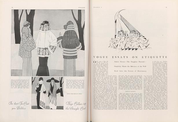 Vogue Essays on Etiquette