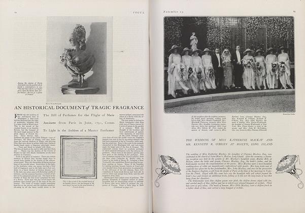 An Historical Document of Tragic Fragrance