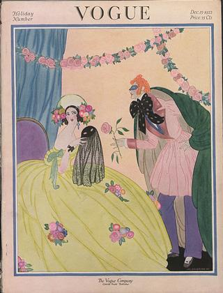 Cover for the December 15 1922 issue