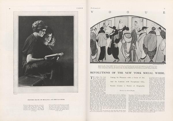 Revolutions of the New York Social Whirl