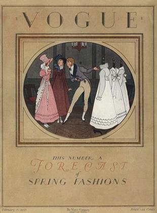 Cover for the February 15 1923 issue