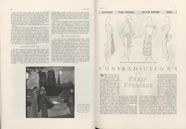 Contradictions of the Paris Openings