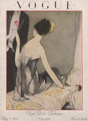 Cover for the May 1 1923 issue