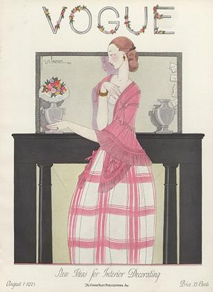 Cover for the August 1 1923 issue