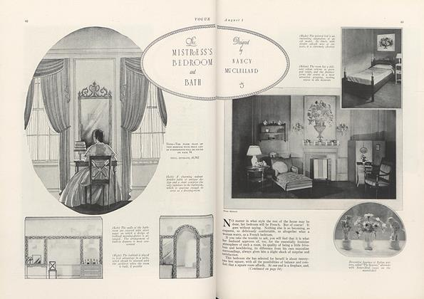 The Mistress's Bedroom and Bath: Designed by Nancy McClelland
