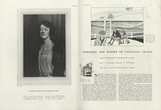 Newport, the Resort of Unfailing Charm