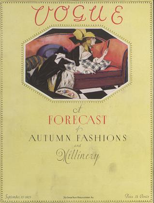 Cover for the September 15 1923 issue