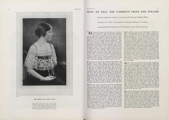 How to Tell the Fashions from the Follies