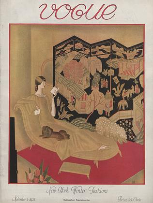 Cover for the November 1 1923 issue