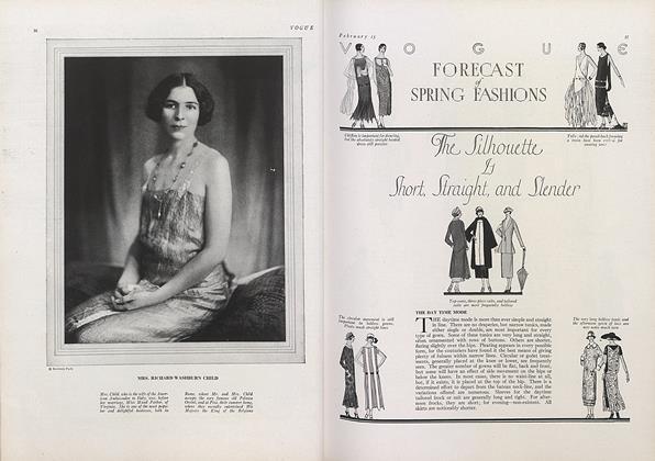 Vogue Forecast of Spring Fashions