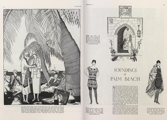 Soundings at Palm Beach