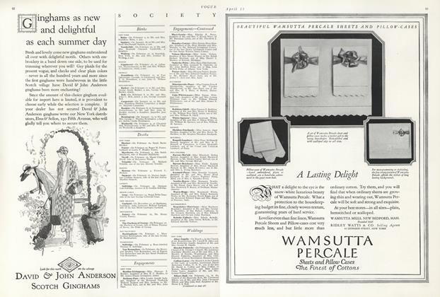 Article Preview: , April 15 1924   Vogue