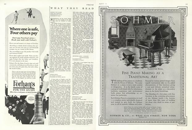 Article Preview: , April 15 1924 | Vogue
