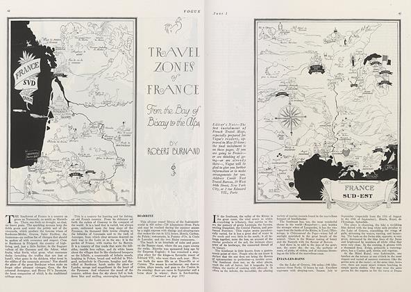 Travel Zones of France:  From the Bay of Biscay to the Alps
