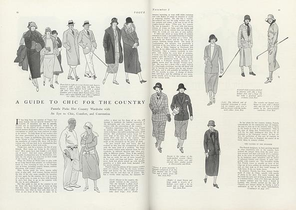 A Guide to Chic for the Country