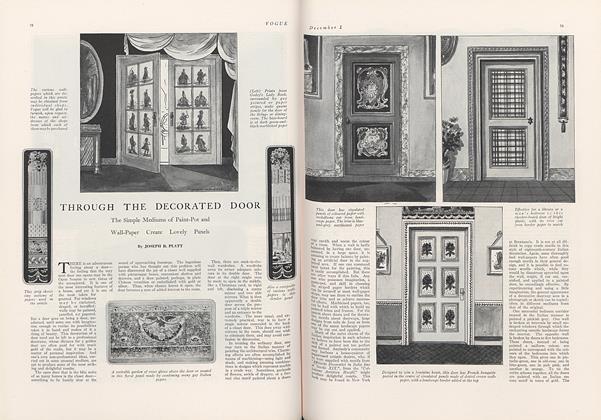 Through the Decorated Door