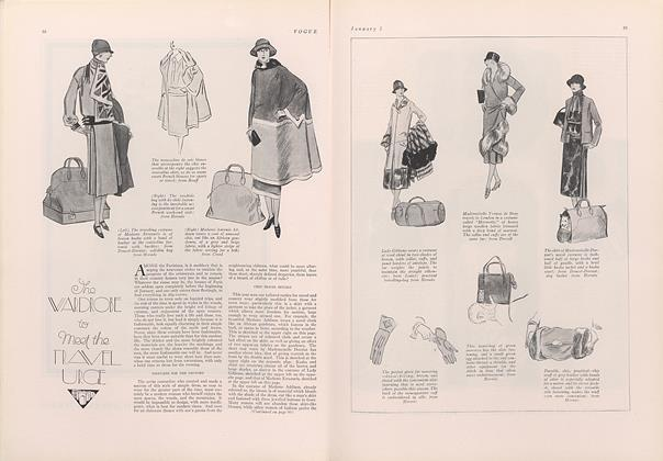 The Wardrobe to Meet the Travel Urge
