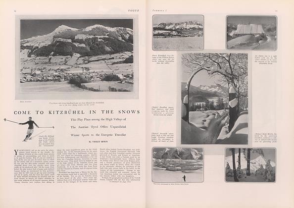 Come to Kitzbuhel in the Snows
