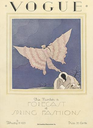 Cover for the February 15 1925 issue