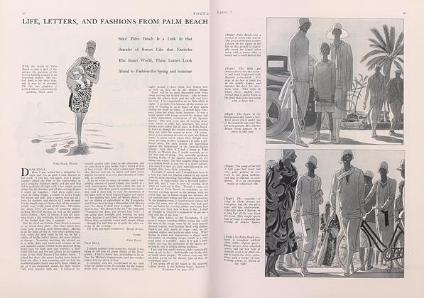 Life, Letters, and Fashions from Palm Beach