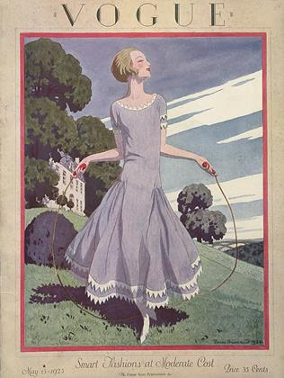 Cover for the May 15 1925 issue