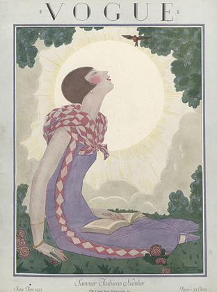 Cover for the June 1 1925 issue
