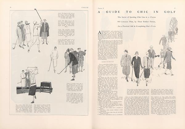 A Guide to Chic in Golf