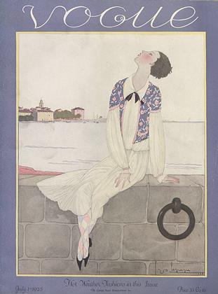 Cover for the July 1 1925 issue