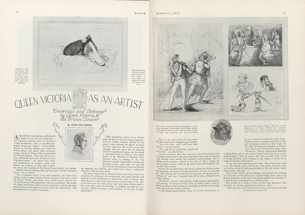 Queen Victoria as an Artist