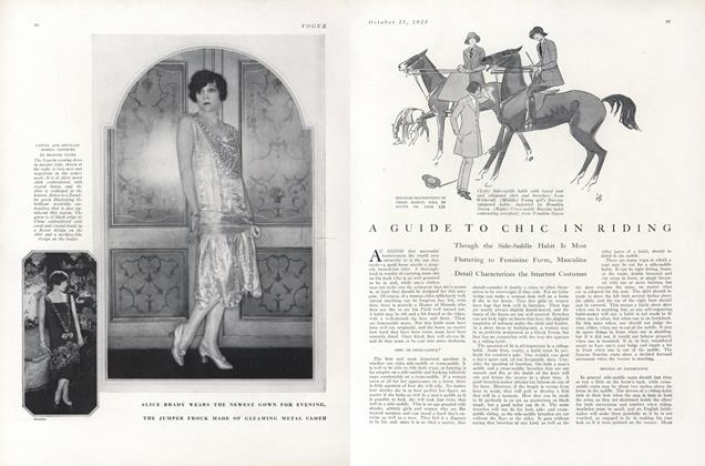 A Guide to Chic in Riding