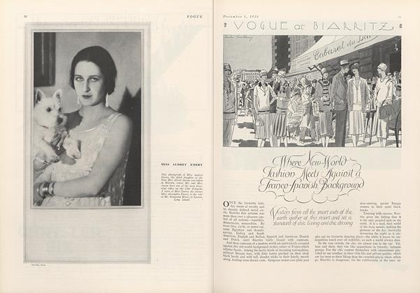 Vogue at Biarritz