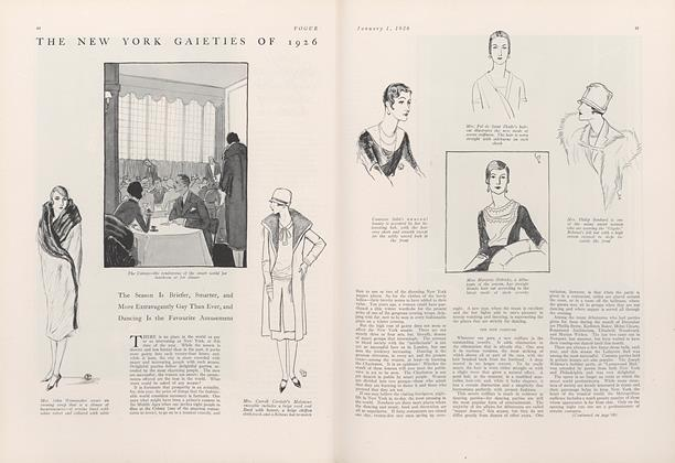 Article Preview: The New York Gaieties of 1926, January 1 1926 | Vogue
