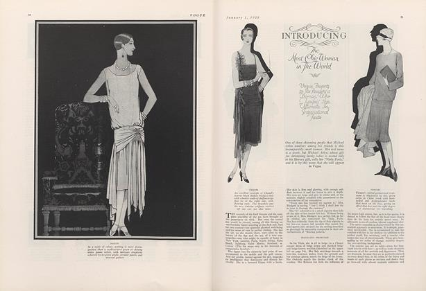 Article Preview: Introducing the Most Chic Woman in the World, January 1 1926 | Vogue