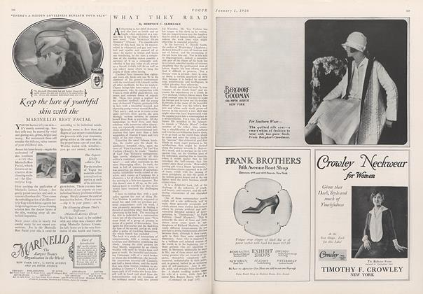 Article Preview: , January 1 1926 | Vogue