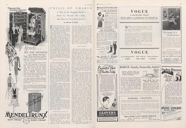 Article Preview: Philis of Charce, January 1 1926 | Vogue