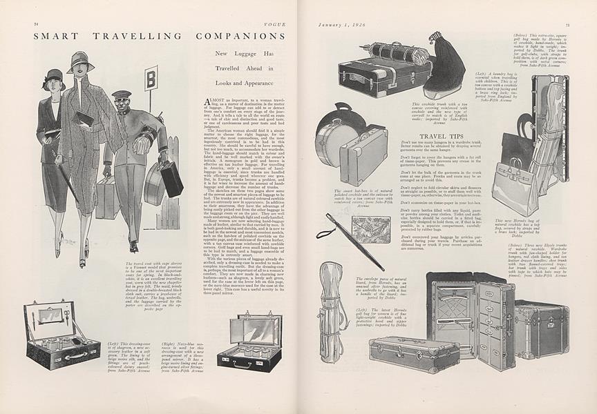 Smart Travelling Companions