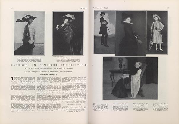 Fashions in Feminine Portraiture