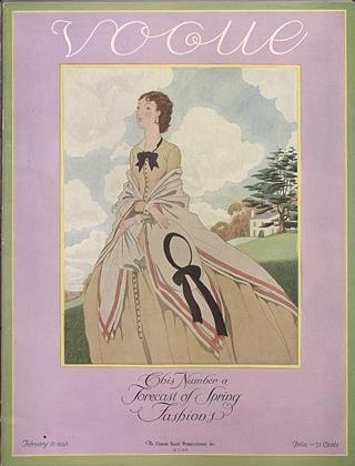Cover for the February 15 1926 issue