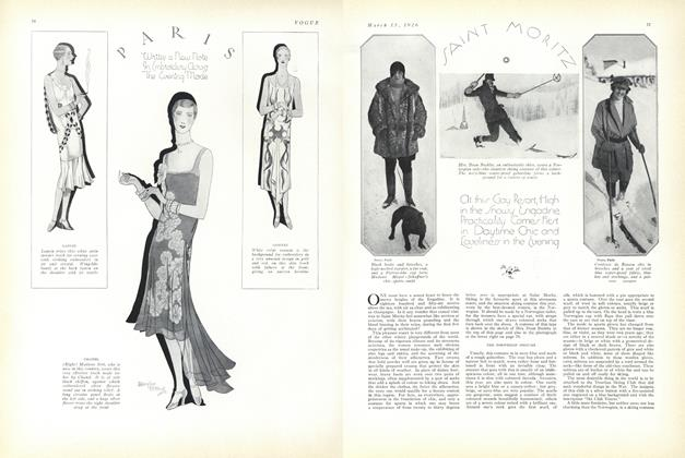 Article Preview: Saint Moritz, March 15 1926 | Vogue